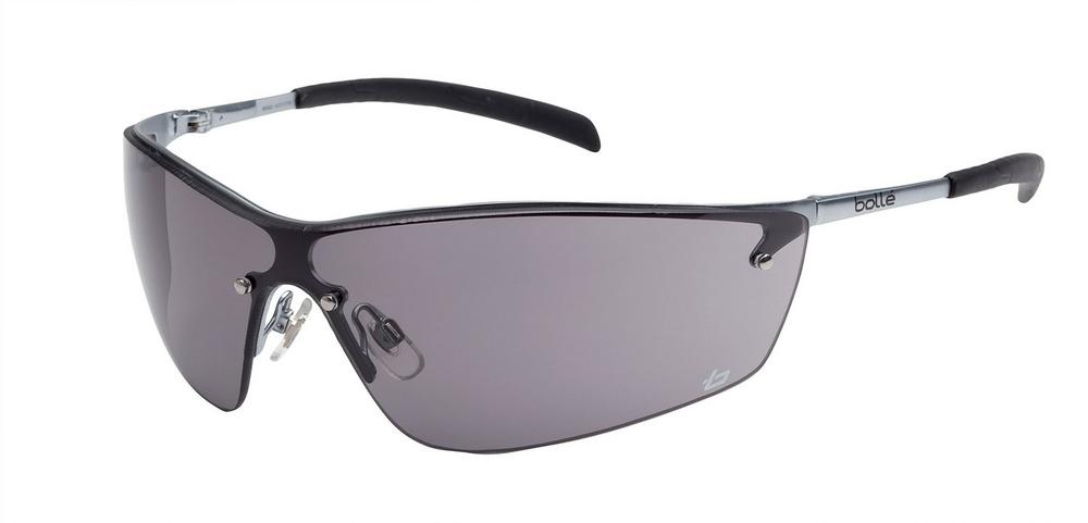 Bolle Silium Safety Glasses - Nickel-free Smoke