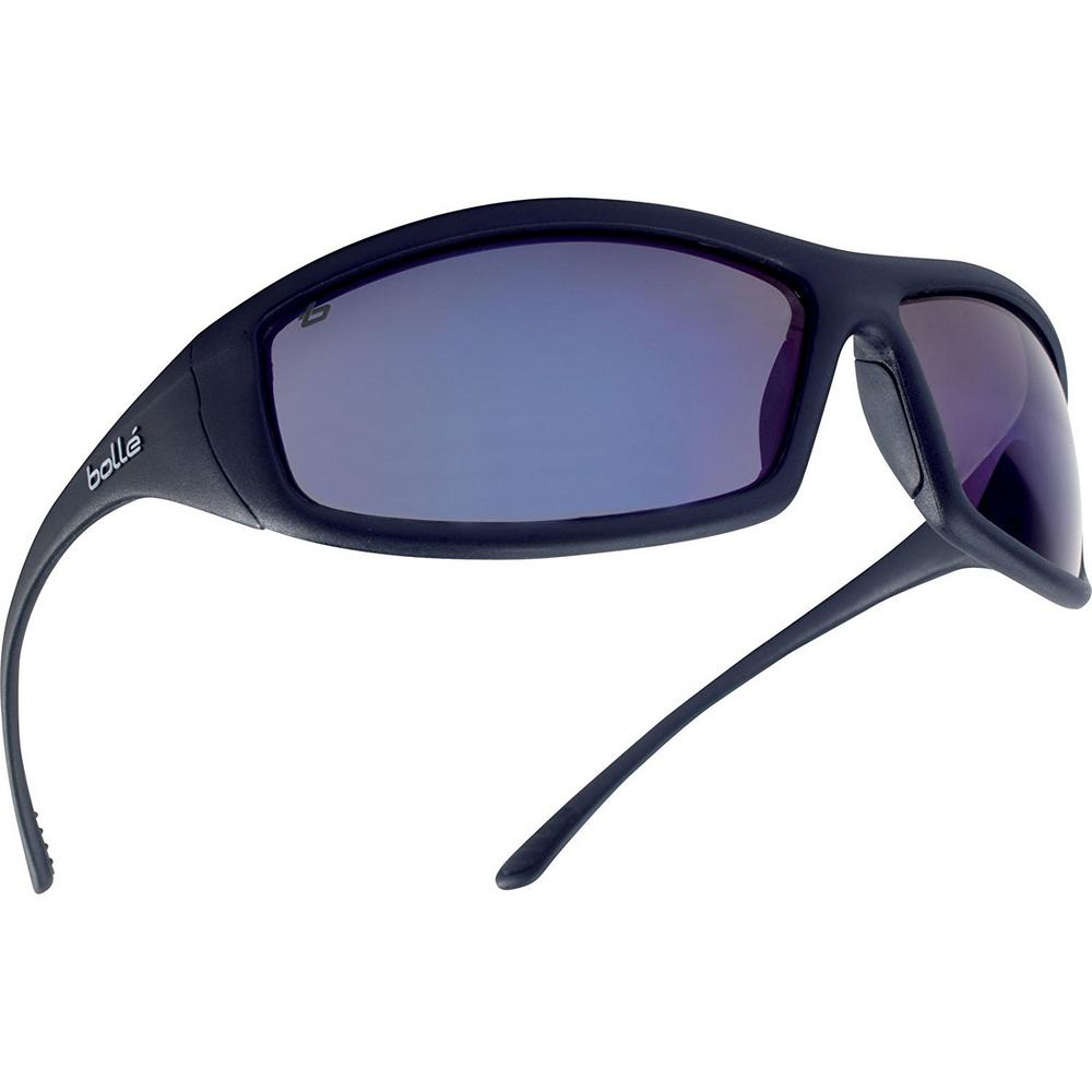 Bolle Solis SOLIFLASH Anti-Scratch Blue Flash Safety Glasses