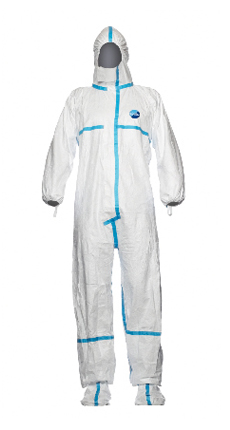 DuPont Tyvek Classic Plus With Socks Disposbale Coverall White Cha6