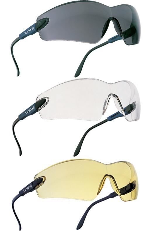 Bolle Viper Anti-Scratch Safety Glasses - Various Colours