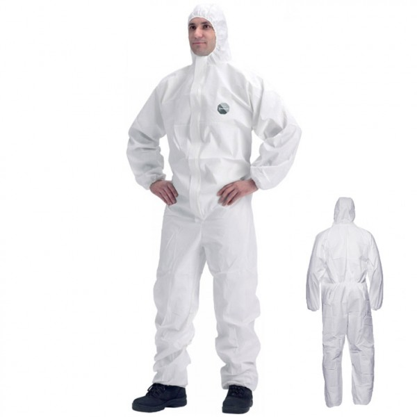 DuPont Proshield-30 Disposable Coverall White With Hood S30Chf5Swh00 Pack of 5