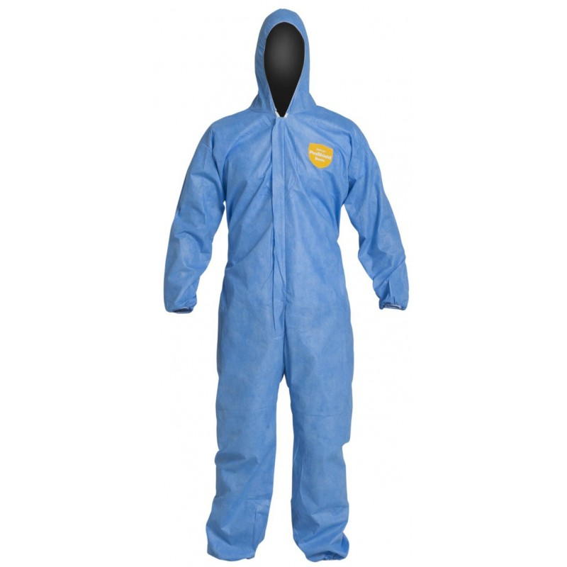 DuPont Proshield Disposable Coverall Blue Type 5/6 Category III (Pack of 5)