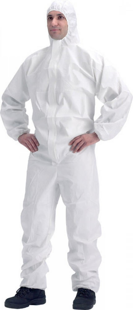 DuPont Proshield Disposable Coverall White Type 5/6 Category III (Pack of 5)