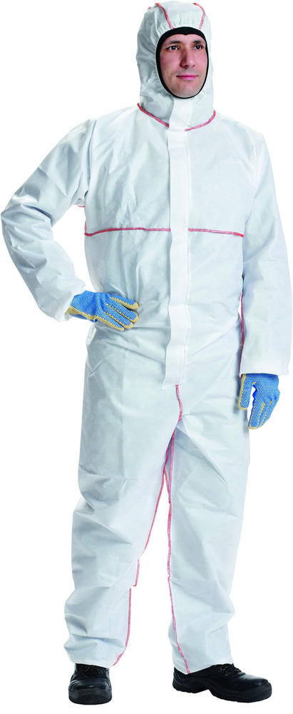 DuPont Proshield Pfr Flame Retardant Disposable Coverall White Chf5S (Pack of 5)