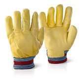 Beeswift Fgimp Freezer Glove Yellow Fleece Lined Knit Wrist