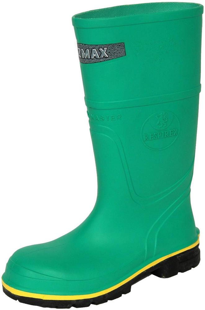 Hazmax Chemical Safety Wellington Boot Green En943