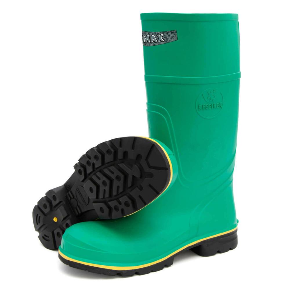 Respirex Hazmax Chemical Resistant Biological Hazard Steel Toe Cap Safety Wellingtons Boots