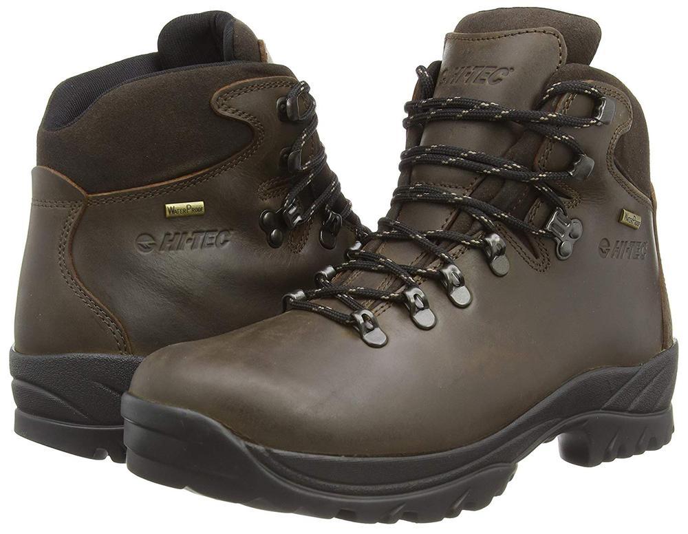 Hi-Tec Ravine Hiking Boot Brown Waterproof Gents O002248-41