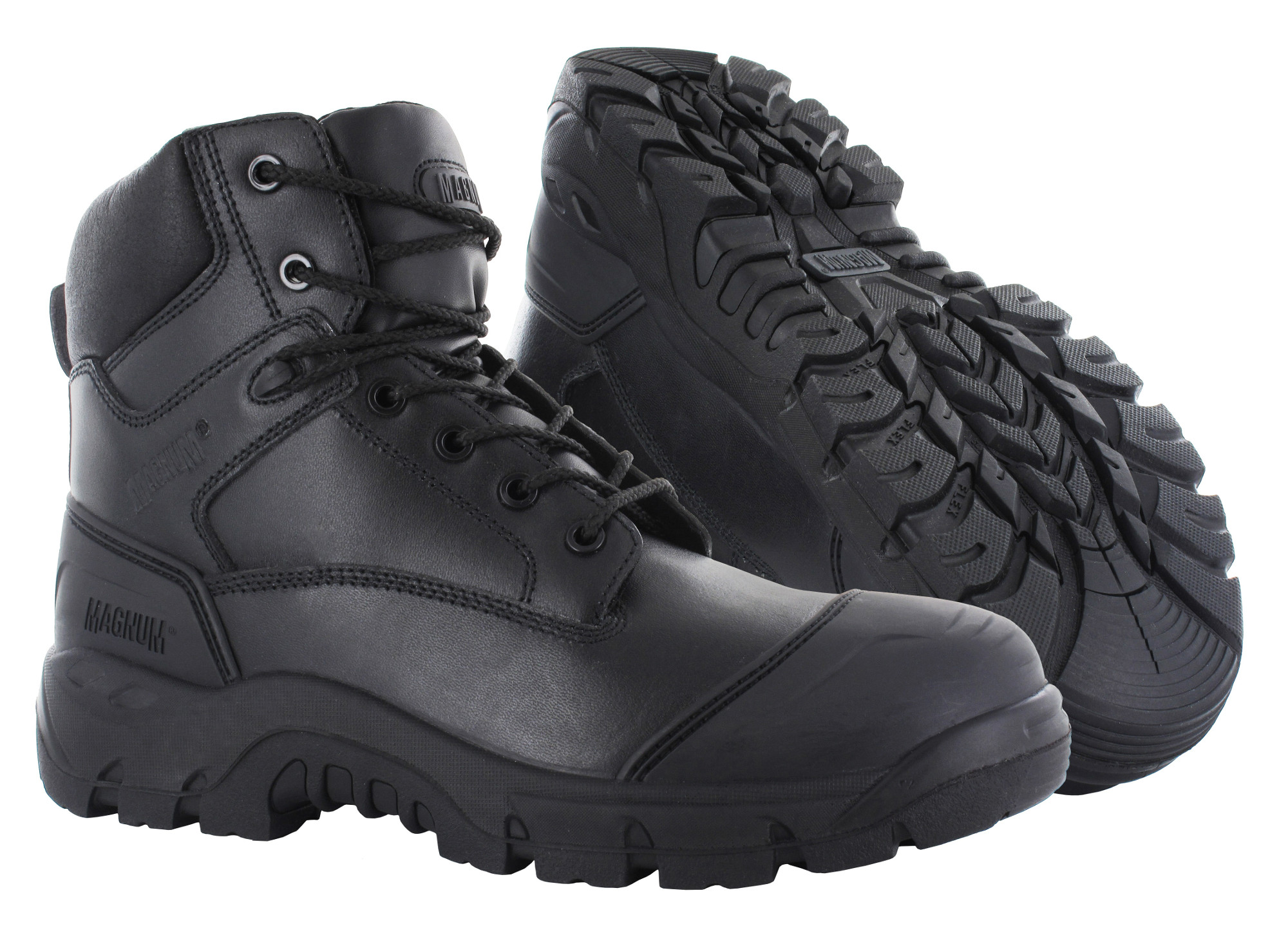 69743da2881 Magnum Roadmaster Black Composite Toe Cap Full Grain Leather S3 Safety Boots