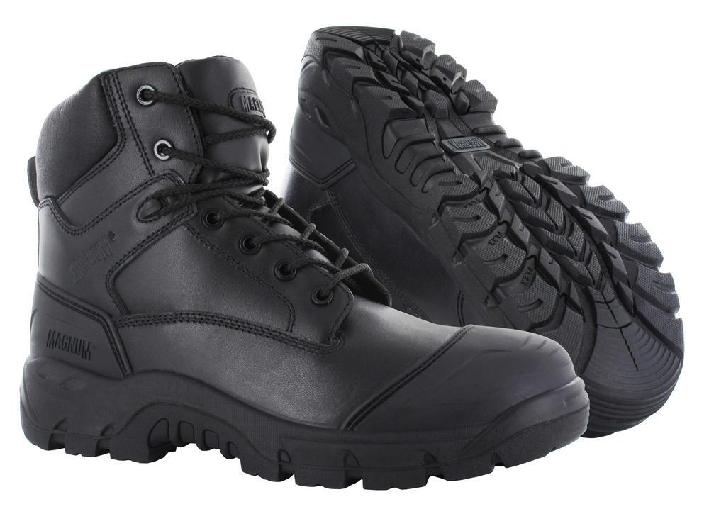 Magnum Roadmaster Black Composite Toe Cap Full Grain Leather S3 Safety Boots