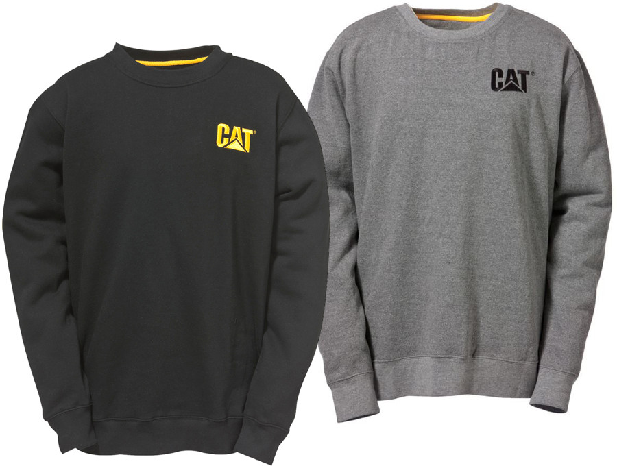 Caterpillar C1910752 Crew Neck Unisex Sweatshirt - Various Colours
