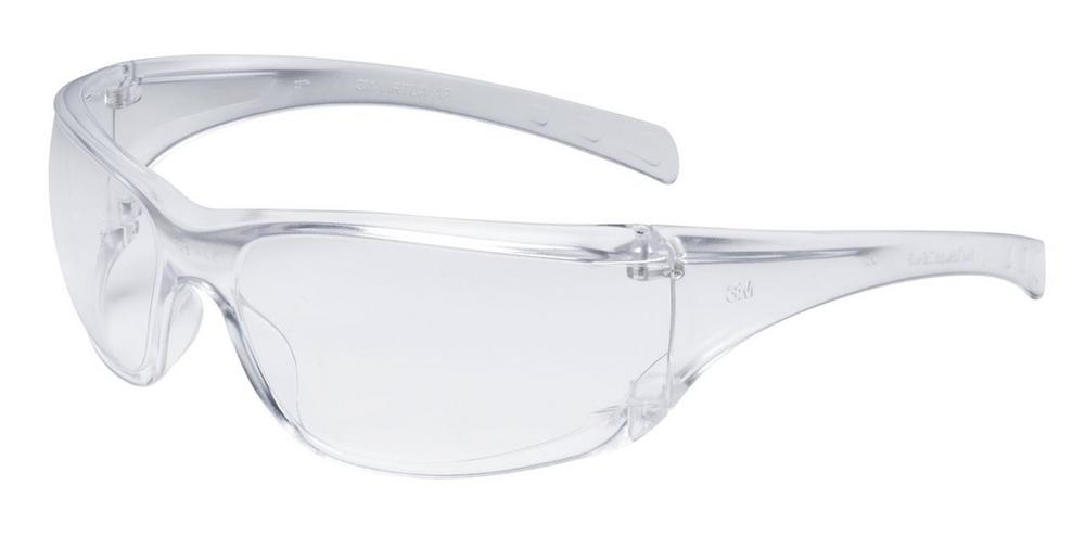 3M Virtua Safety Glasses 11818-00000-20 Clear Lens Clear Frame (Pack of 10)