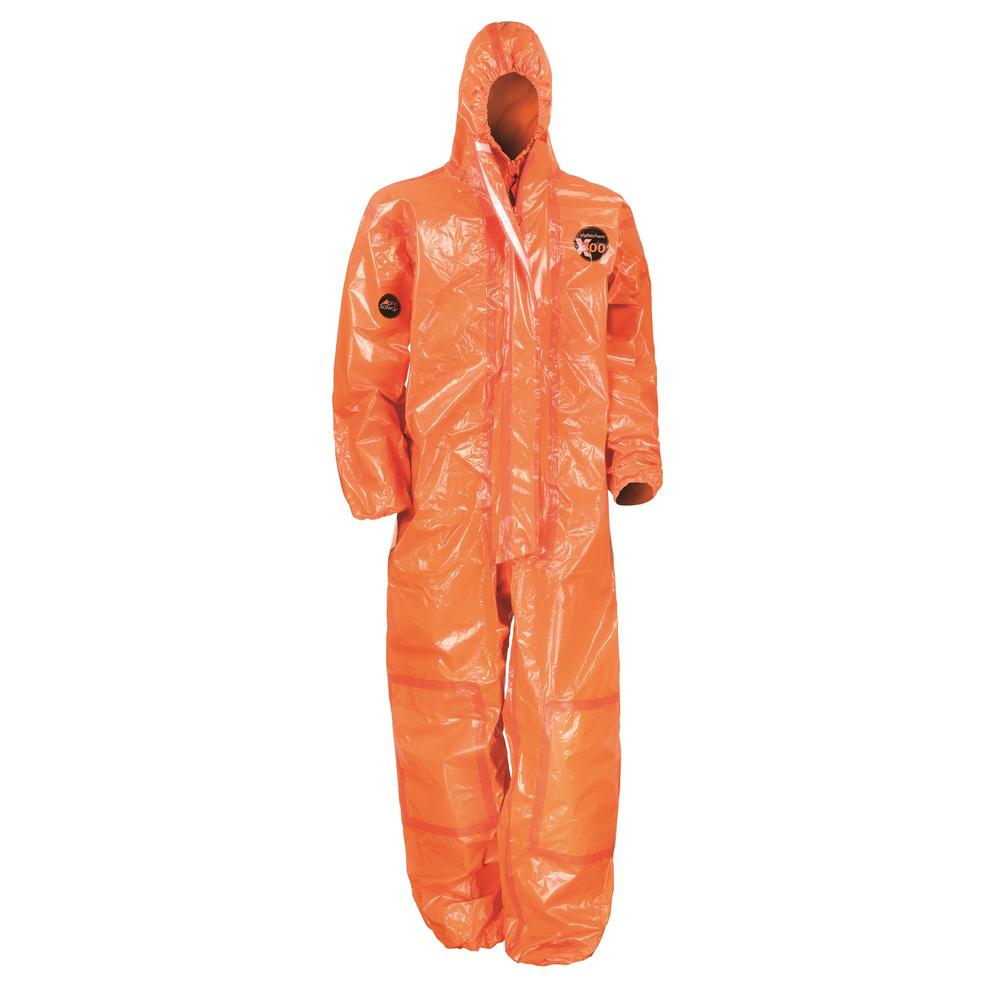 Alpha Solway Alphachem X300 Coverall Chemical EVOH multi-layer Orange