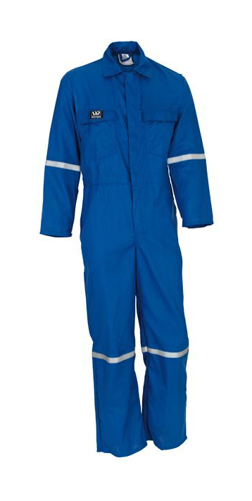 Wenaas FR Nomex Lightweight overall Royal Blue 150gsm