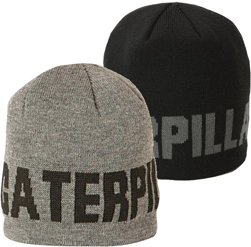 Caterpillar Cat 1128043 Knit-in graphic One size 100% acrylic Branded Beanie Cap
