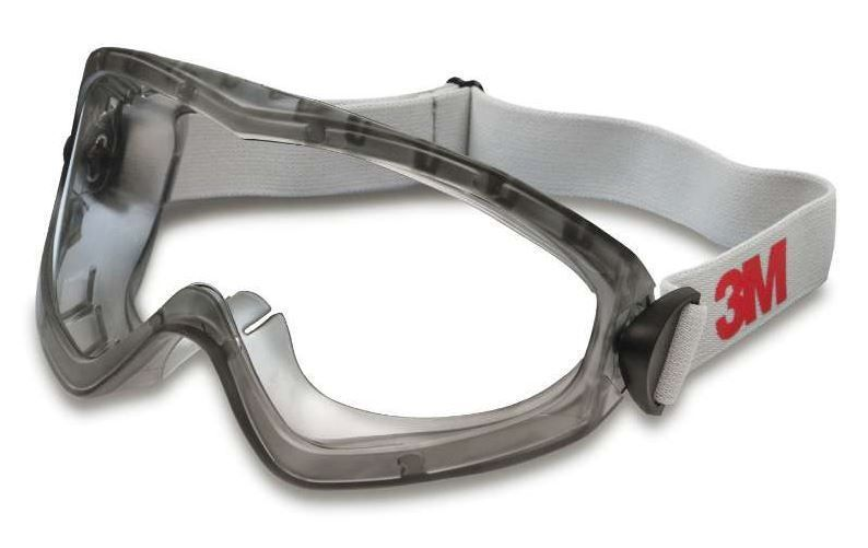 3M Sealed Safety Goggles 2890S - Anti-Fog Clear Lens