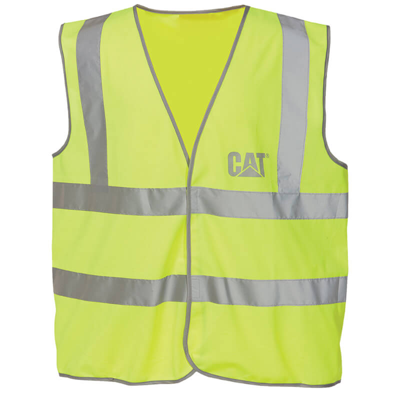 Caterpillar Cat C1322024 Hi Vis Safety Vest