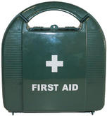 Hard Case Travel or Work No Running Water Set HSA Compliant First Aid Kit for 10 Person