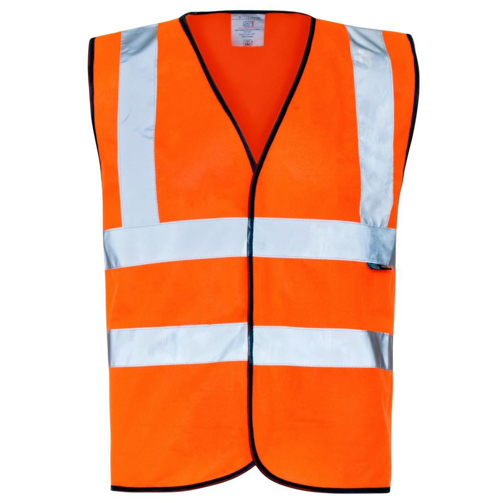 SuperTouch Poly/Cotton 35281 Hi Vis Vest