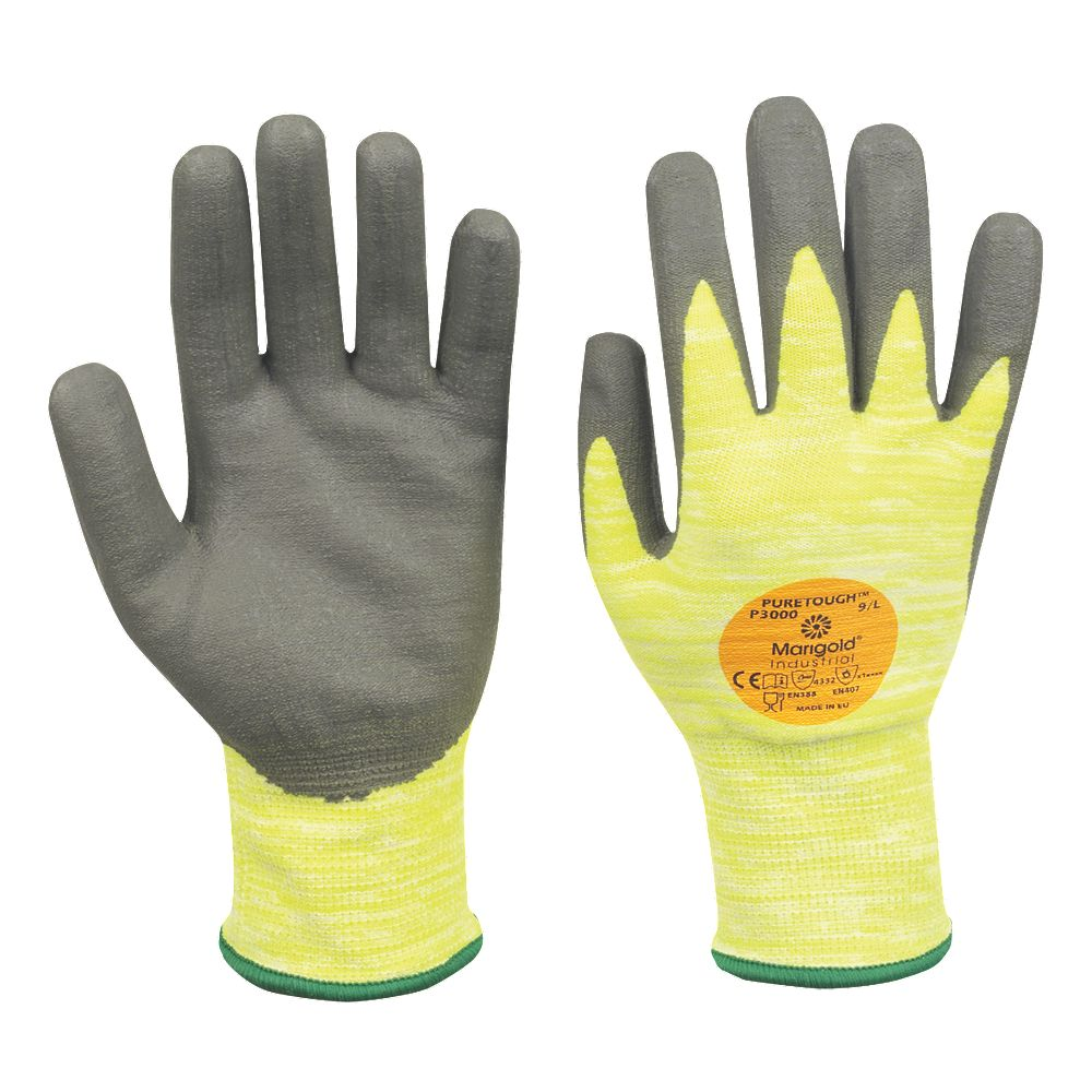 Marigold Puretough P3000 11-423 Nitrile Wet Grip Work Gloves