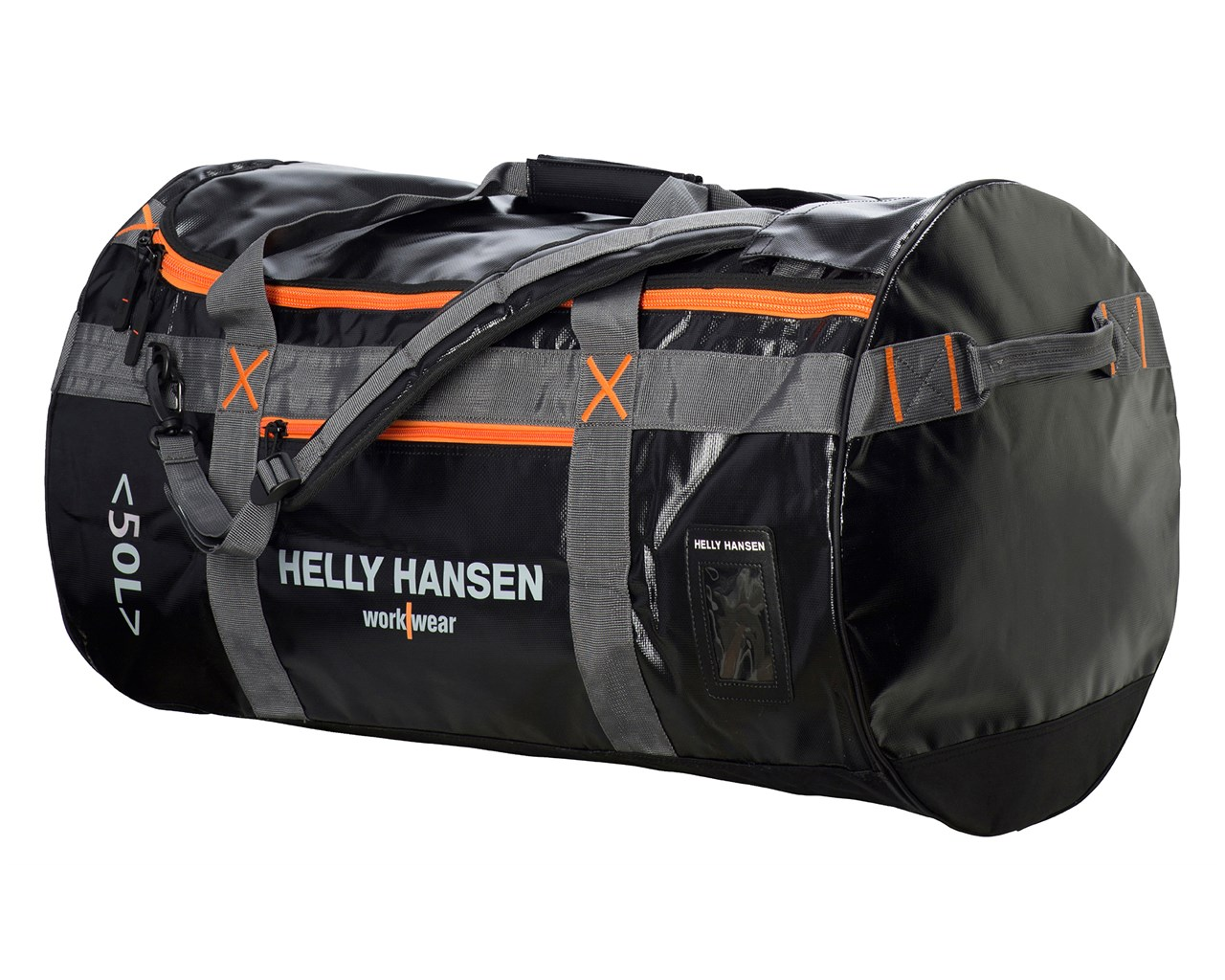Y Hansen 79563 Duffel Bag Water Resistant Nylon 50 Litre Work Or Travel Holdall