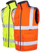Leo Workwear Torrington Iso 20471 Cl 2 Hi Vis Bodywarmer