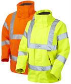 Leo Workwear Rosemoor Iso Hi Vis Breathable Womens Jacket