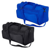 Quadra Qd45 Black Or Blue Strapped Holdall Kit Bag