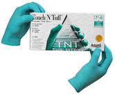 Ansell Touchntuff 92-500 Nitrile Coated Powdered Disposable Gloves (100 Pack)