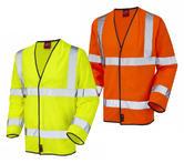 Leo Workwear Mullacott En 471 Cl 3 Lfs Sleeved Waistcoat (En 533)