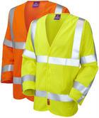 Leo Workwear Meshaw Hi-Vis Lfs Sleeved FR and Anti-Static Waistcoat
