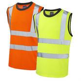 Leo Workwear Ashford High Visibility Poly/Cotton Vest