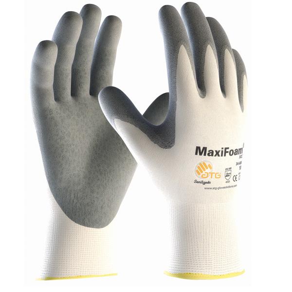 Glove Maxifoam Nitrile Coated 34 800 En 4131 Atg