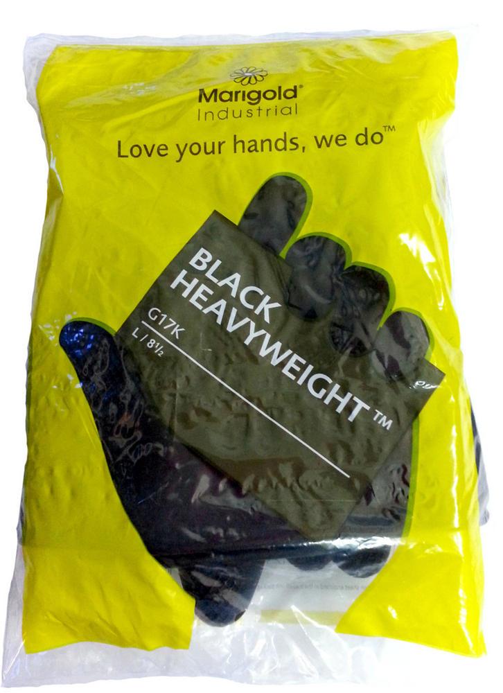 glove black 11 u0026quot  heavy weight g17k marigold