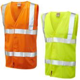 Leo Workwear Milford Flame Retardant Hi-Vis Lfs Waistcoat