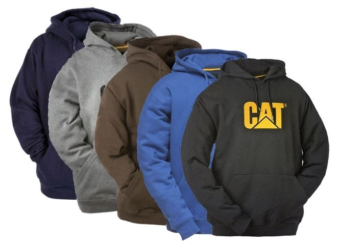 Caterpillar CW10646 Trademark Hooded Sweatshirt - Various Colours