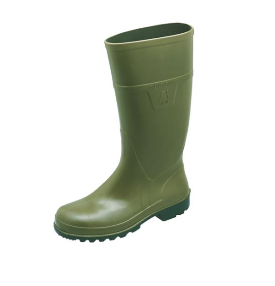 Sievi High Green S5 Safety Toe cap ESD Wellington Boot