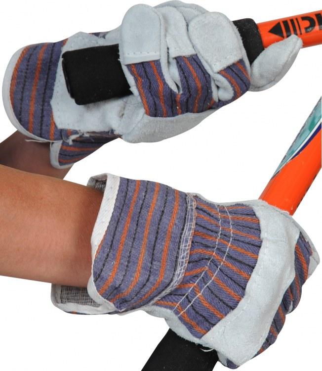Ultimate Industrial USTRA Chrome Leather Cotton Back Work Rigger Gloves