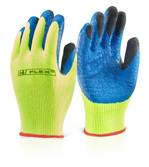 Beeswift BF3SY Saturn Thermal Insulated Latex Palm General Handling Work Gloves