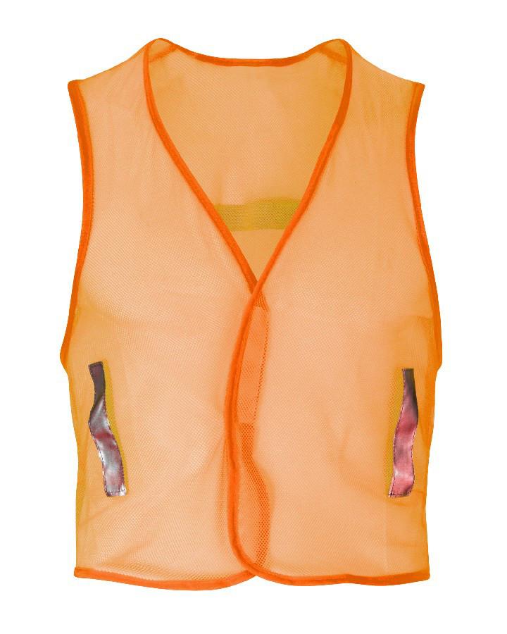Orbit Barbute HVW04 Vest Hi Vis Ventaknit Waistcoat Orange Vest