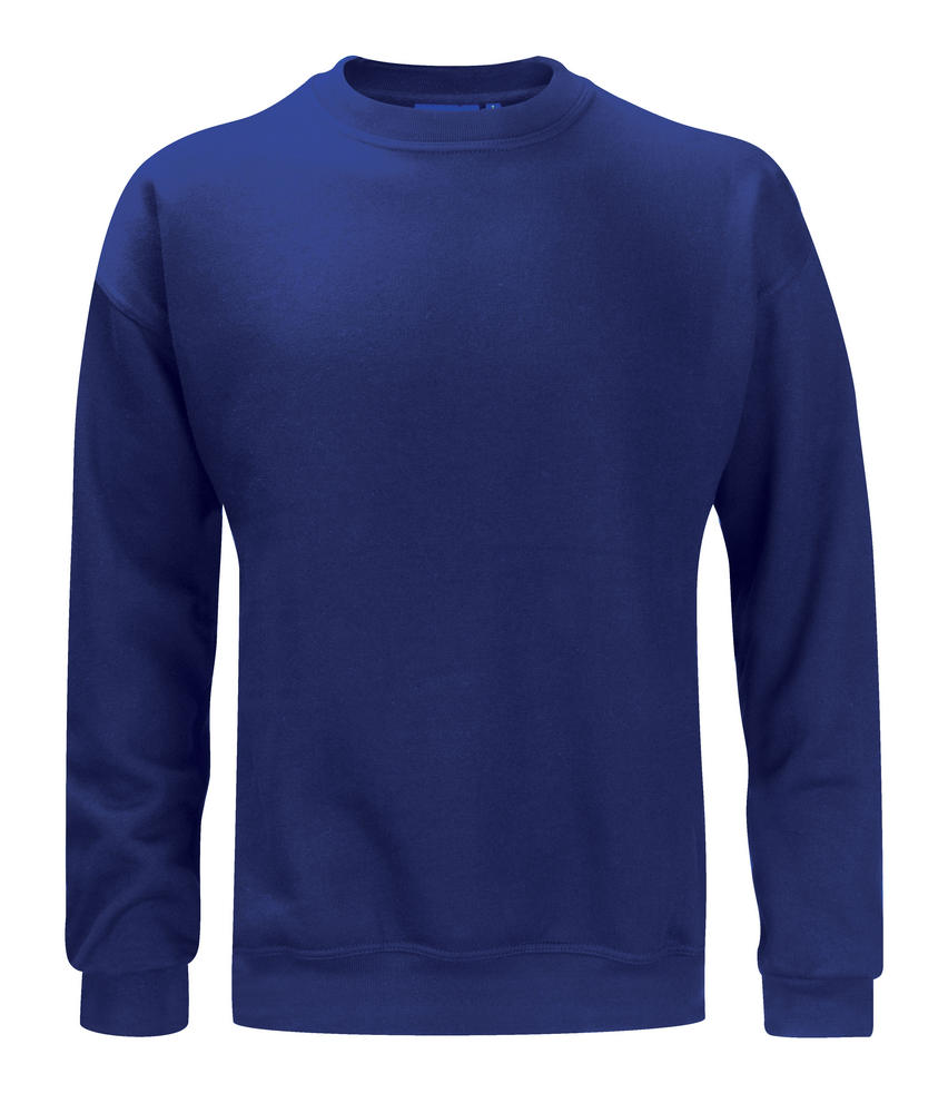 Orbit Elbrus Mens Sweatshirt 340gsm Polycotton Long Sleeve Sweater Workwear Navy
