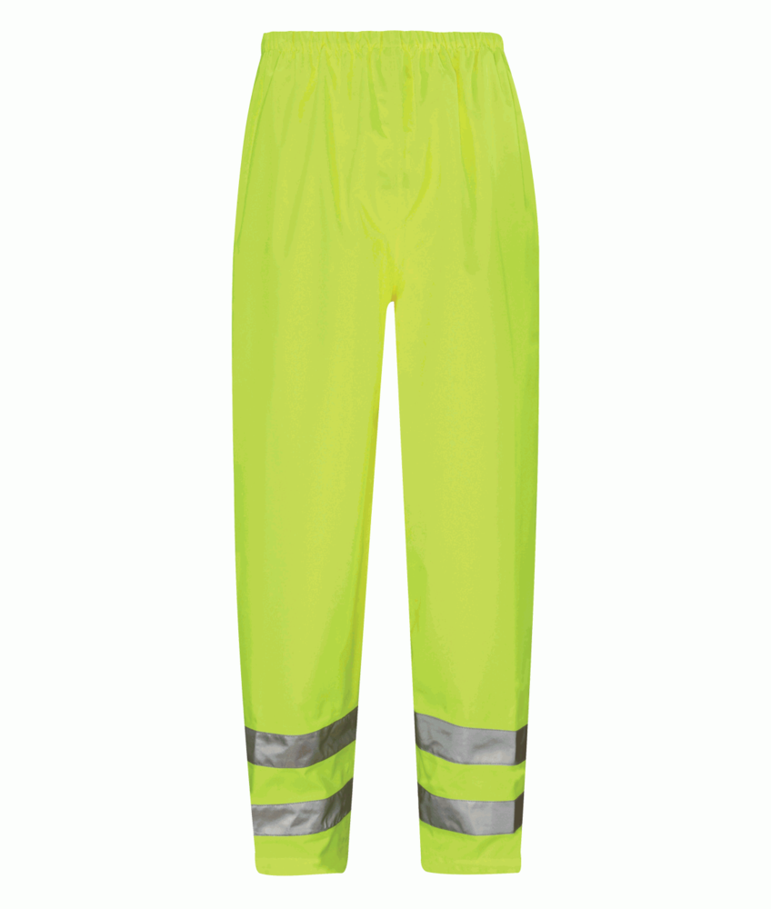 Orbit Viking HVTB01 Breathable Water Resistant Rain High Visibility Over Trousers