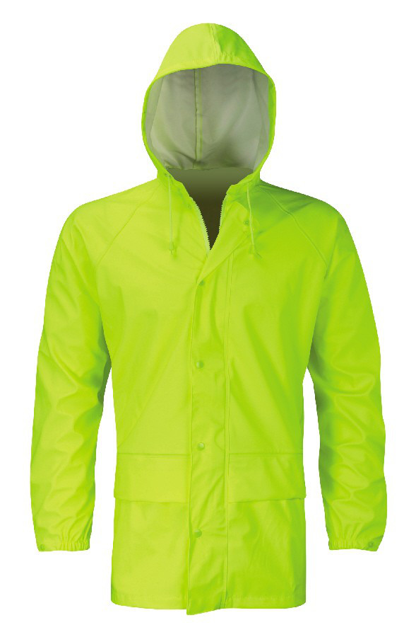Orbit Oak HFJHV Hi Vis Waterproof Hydra-Flex Breathable Unlined Raincoat Work Jacket