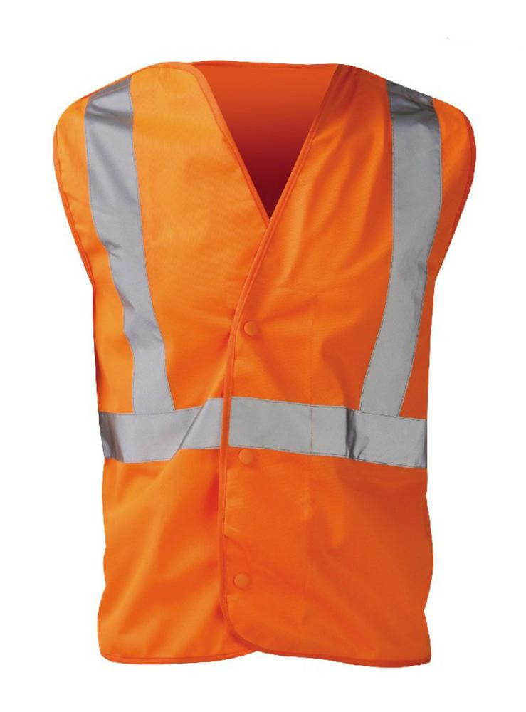 Orbit International Euston Hi Vis Orange Waistcoat LULO2C