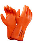 Ansell 23-700 Orange Fully Coated Insulated Polar Grip Glove