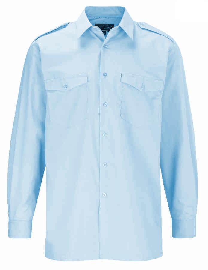 Orbit International PSLS Polycotton Long Sleeve Work Uniform Mens Pilot Shirt