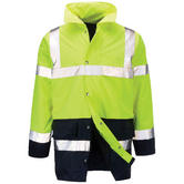 Orbit Lamorak 2 Tone High Vis Work Jacket Navy-Yellow FWTTJ
