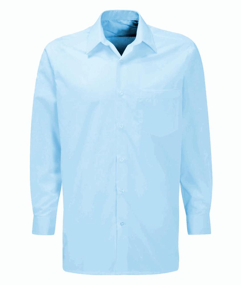 Orbit CSLS Mens Polycotton Workwear Uniforms Classic Long Sleeve Shirt