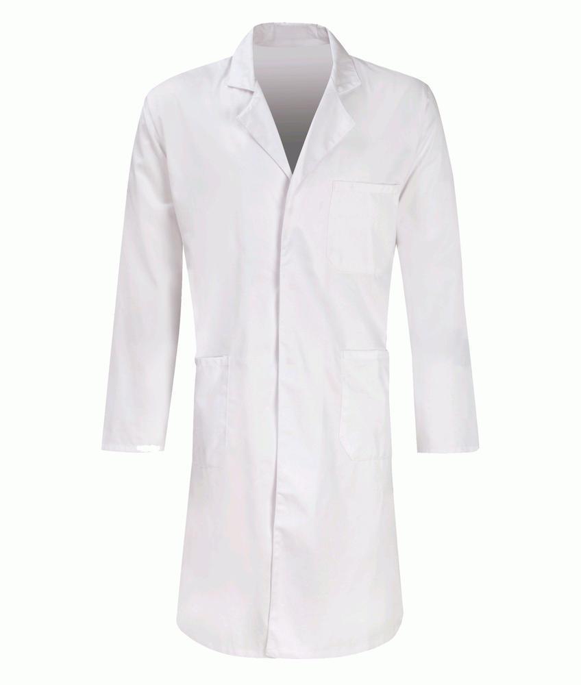 Orbit PC205W Polycotton Warehouse Food Medical Hygiene White Coat