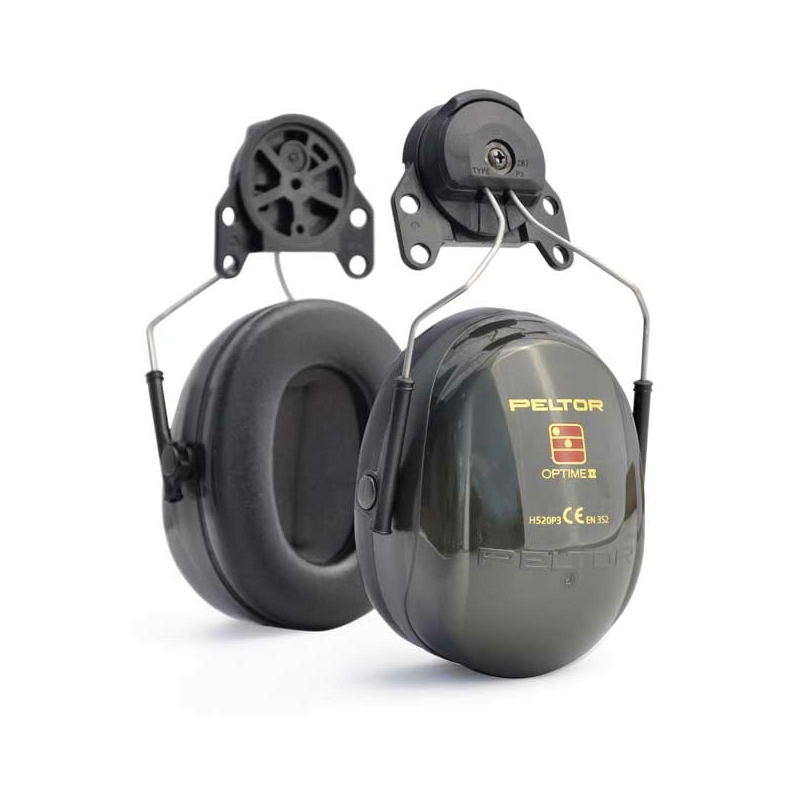 3M H520P3E Peltor Optime 2 Helmet Mounting Ear Muff